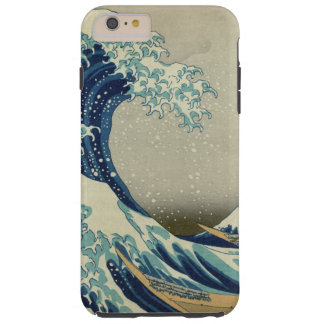 The Great Wave off Kanagawa Tough iPhone 6 Plus Case
