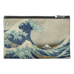 The Great Wave off Kanagawa Travel Accessory Bags