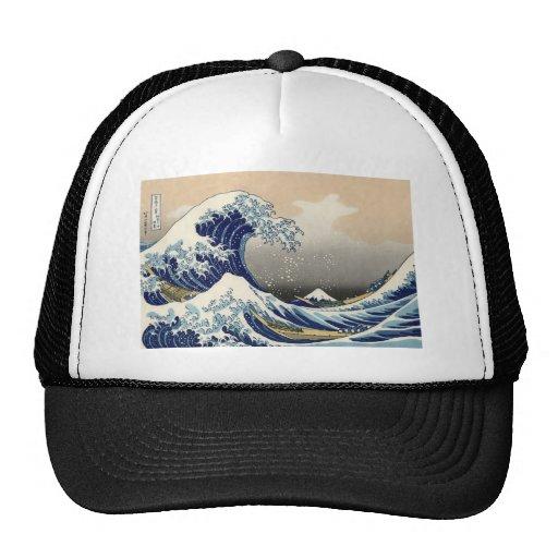 The Great Wave off Kanagawa Trucker Hat