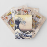 The Great Wave Off Kanagawa Vintage Japanese Art Bicycle Playing Cards