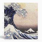 The Great Wave Off Kanagawa Vintage Japanese Art Binder