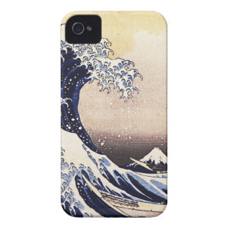 The Great Wave Off Kanagawa Vintage Japanese Art iPhone 4 Case-Mate Cases