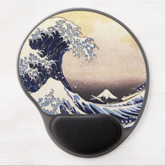 The Great Wave Off Kanagawa Vintage Japanese Art Gel Mouse Pad