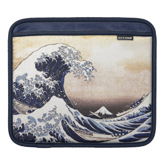 The Great Wave Off Kanagawa Vintage Japanese Art Sleeve For iPads