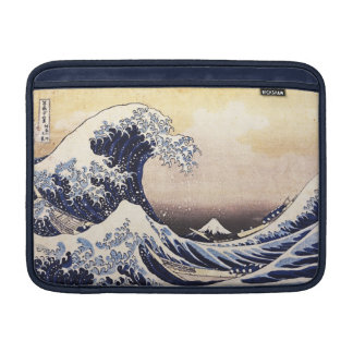 The Great Wave Off Kanagawa Vintage Japanese Art Sleeves For MacBook Air