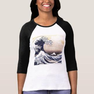 The Great Wave Off Kanagawa Vintage Japanese Art T Shirt