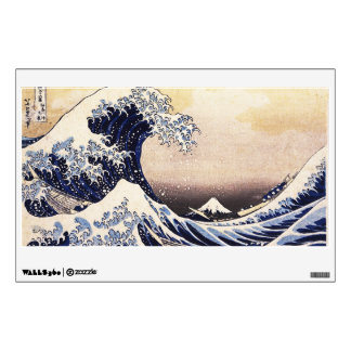 The Great Wave Off Kanagawa Vintage Japanese Art Wall Decal