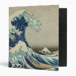 The Great Wave off Kanagawa Vinyl Binder