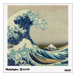 The Great Wave off Kanagawa Wall Decal