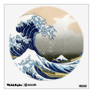 The Great Wave Off Kanagawa Wall Sticker