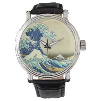 """The Great Wave off Kanagawa"" Watches"