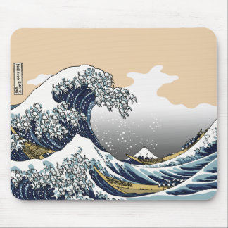 The Great Wave Off Katagawa Mouse Pad