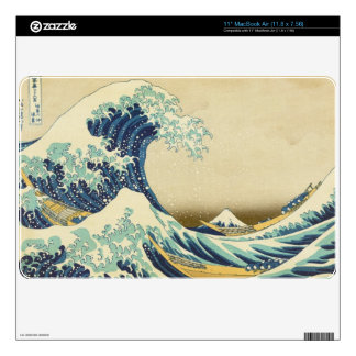 The Great Wave Off Shore of... Computer Skin Skin For MacBook
