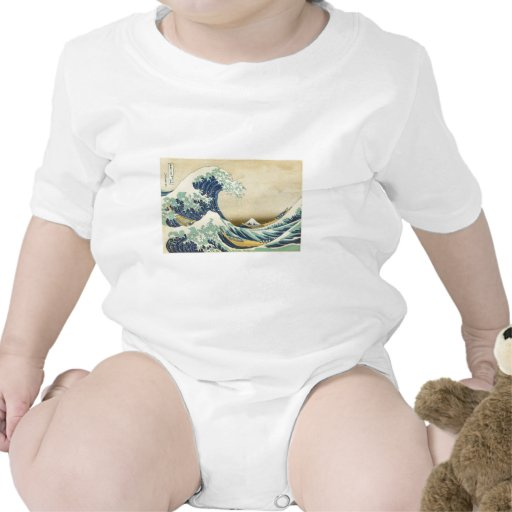 The Great Wave Off Shore of Kanagawa Bodysuit