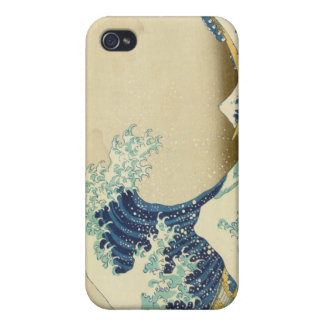 The Great Wave Off Shore of Kanagawa iPhone 4 Cover