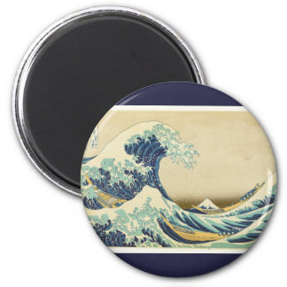 The Great Wave Off Shore of Kanagawa Refrigerator Magnet
