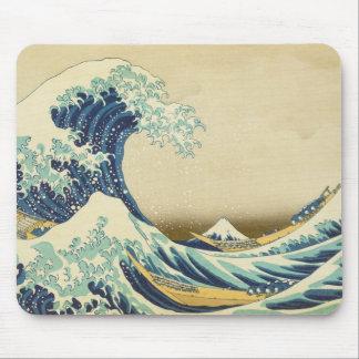 The Great Wave Off Shore of Kanagawa Mousepad