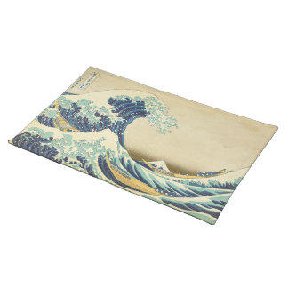 The Great Wave Off Shore of Kanagawa Placemat Cloth Place Mat