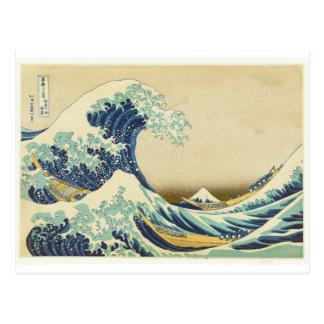The Great Wave Off Shore of Kanagawa Postcard