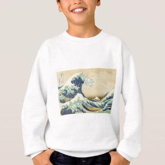 The Great Wave Off Shore of Kanagawa Sweatshirt