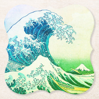 The Great Wave Paper Coaster