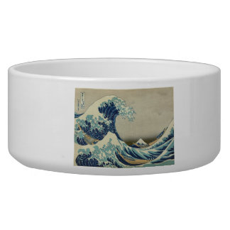 The Great Wave Dog Bowl