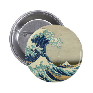 The Great Wave Pinback Button