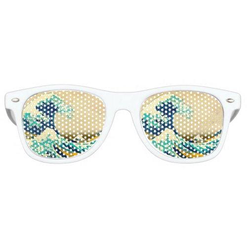 The Great Wave Retro Sunglasses