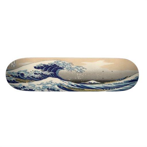 The Great Wave Skateboard Decks