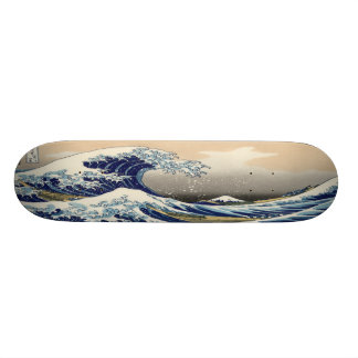 The Great Wave Skateboard Deck