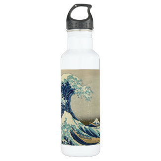 The Great Wave Stainless Steel Water Bottle