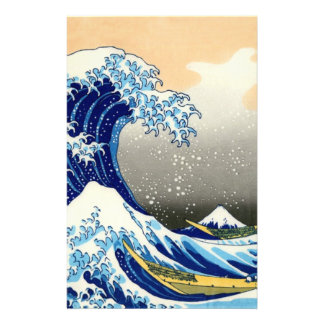The Great Wave Stationery