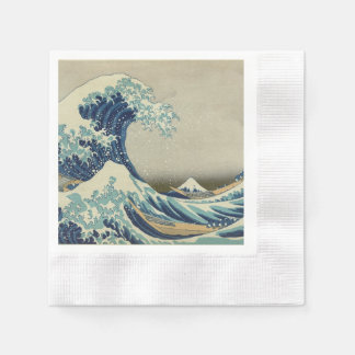 The Great Wave Paper Napkin