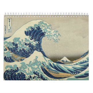 The Great Wave: The Art of Hokusai Calendar