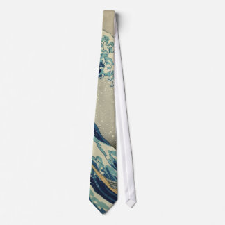 The Great Wave Tie