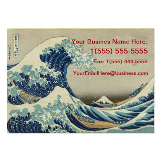 The Great Wave/ Tsunami Japanese Business Card