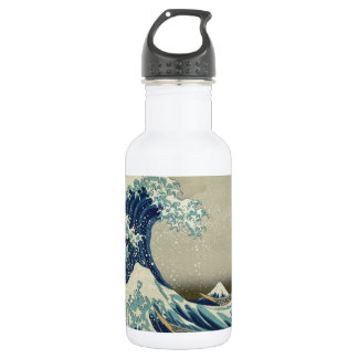 The Great Wave Water Bottle
