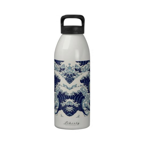The Great Wave Reusable Water Bottles