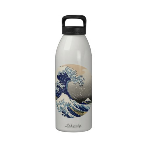 The Great Wave Drinking Bottles