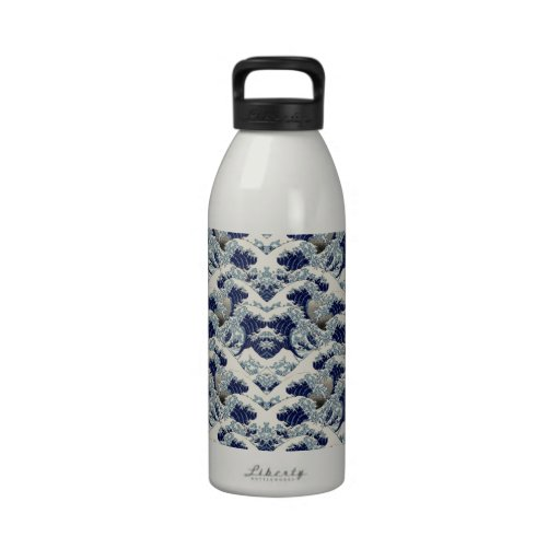 The Great Wave Water Bottles