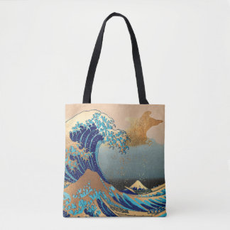 The Great Waves at Kanagawa Tote Bag