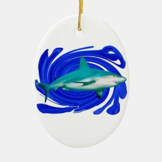 The Great White Ceramic Ornament