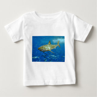 The Great White Shark Carcharodon Carcharias Baby T-Shirt