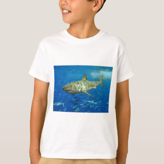 The Great White Shark Carcharodon Carcharias T-Shirt
