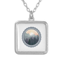 The Great Wilderness Silver Plated Necklace