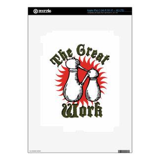 The Great Work iPad 3 Decal