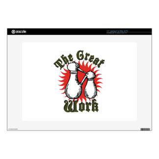 The Great Work Laptop Skins