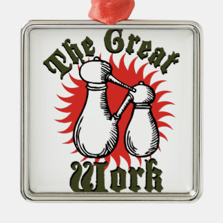The Great Work Metal Ornament