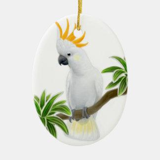 The Greater Citron Cockatoo Ornament