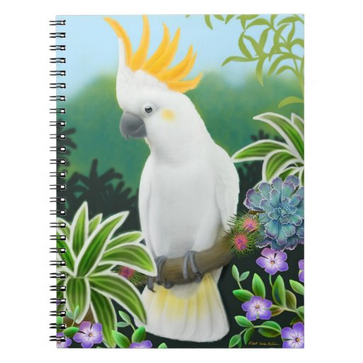 The Greater Citron Crested Cockatoo Notebook
